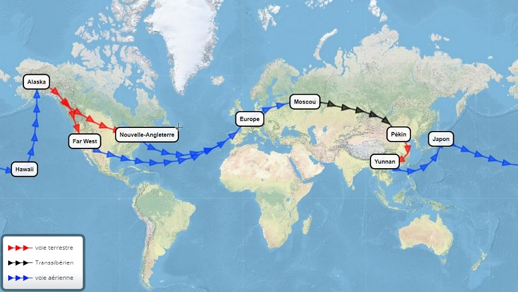 Billet tour du monde : into the wild